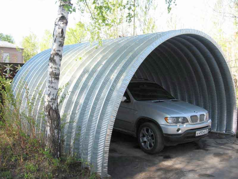 строительство частных гаражей