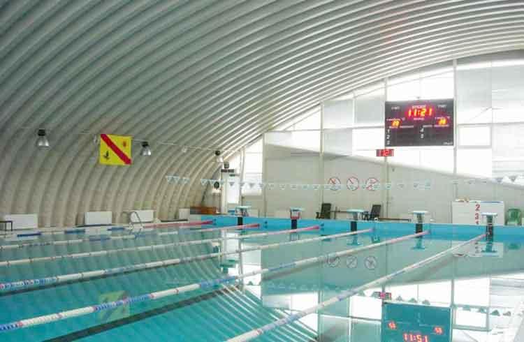 строительство спортивных бассейнов по бескаркасной технологии в Красноясрке