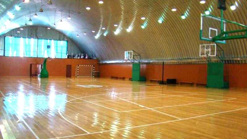 арочные спортивные сооружения