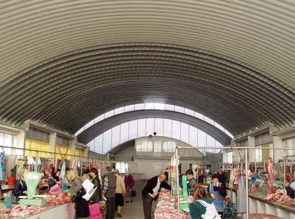 строительство бескаркасных рынков в Красноярске